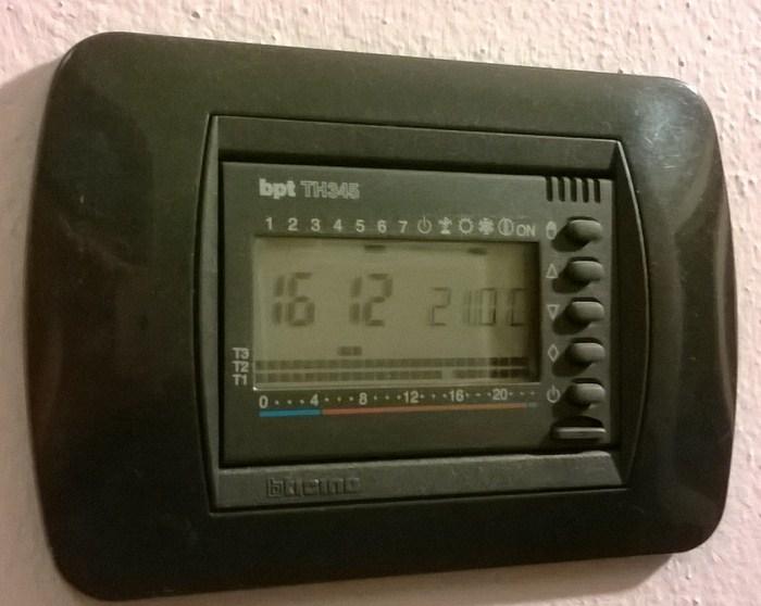 Il meglio di potere termostato ambiente perry istruzioni for Termostato perry manuale