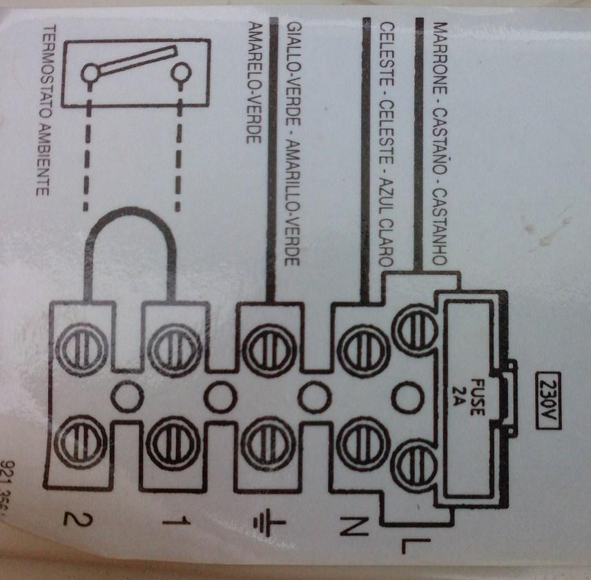 Schema Elettrico Termostato Ambiente : Come installare o sostituire un cronotermostato