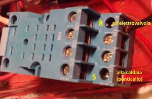 circuito elettrico riscaldamento a zone