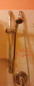 tubo doccia