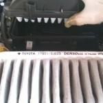 Cambiare il filtro aria sulla peugeot 107