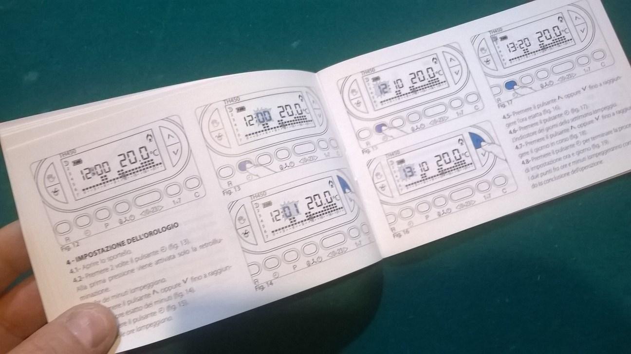 Miglior cronotermostato digitale da parete fai da te for Cronotermostato vimar 01910 manuale istruzioni