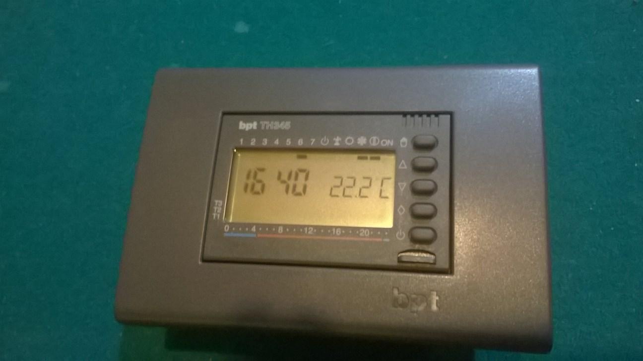 Istruzioni cronotermostato bticino light n4448 for Cronotermostato bticino l4451