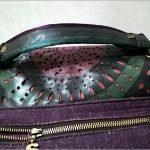Riparare il manico di una borsa
